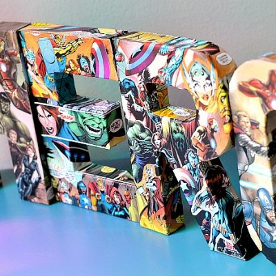 DIY Comic Book Letters