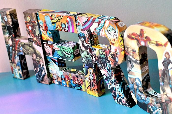 DIY Comic Book Letters