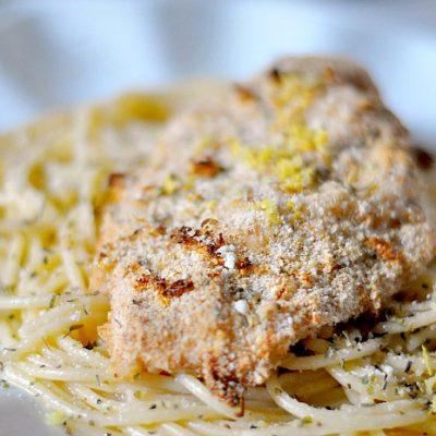Easy Parmesan Lemon Chicken Recipe