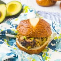 Delicious Avocado Turkey Burgers