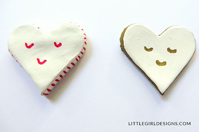 if you can roll out a batch of sugar cookie dough and cut out shapes, you already have the skills you need to make clay magnets! | The Love Nerds
