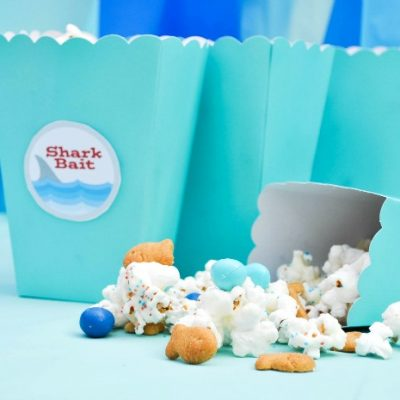 Shark Bait Ocean Party Popcorn Mix