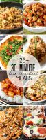 30 Minute Meals for Back to School Dinners