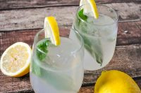 Basil Lemonade Cocktail