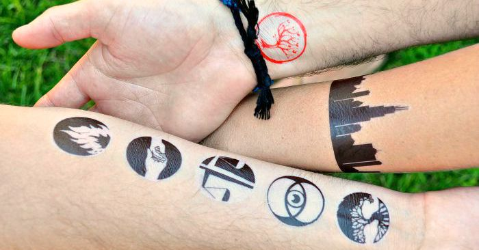 How to Make Temporary Tattoos at home! I'm sharing my DIY Divergent Temporary