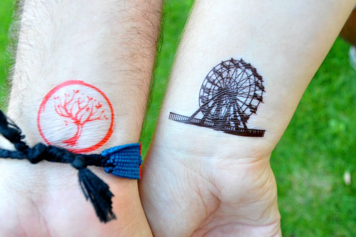 How To Make Temporary Tattoos For Divergent The Love Nerds