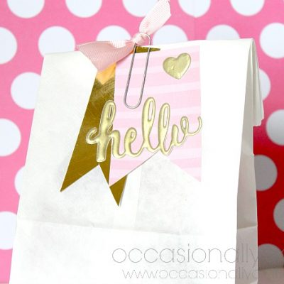 Tickled Pink Gift Bag