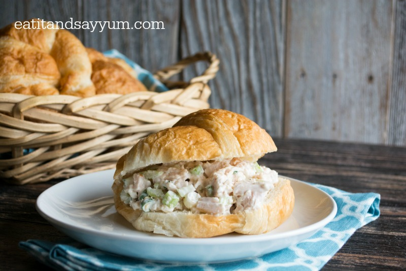 Chicken-Salad-Sandwiches-on-Croissants-from-Eat-It-Say-Yum