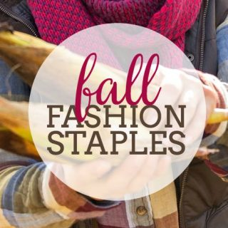 Fall Fashion Staples