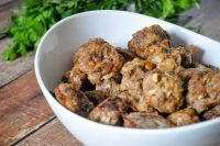 Savory Swedish Meatballs - A classic meatball recipe that's great for dinner with pasta and a salad or as BBQ Meatballs on game day! | The Love Nerds