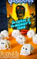The Pop Culture Hop for Goosebumps - Perfect Halloween ideas that also make a great Goosebumps birthday party!