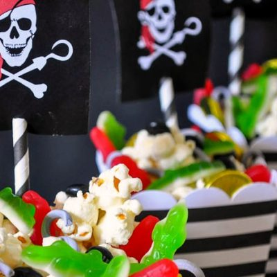 Neverland Pirates Treasure Popcorn Mix