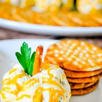 Pumpkin Mini Cheese Balls