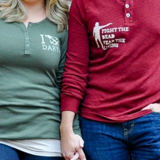 DIY Walking Dead Shirts