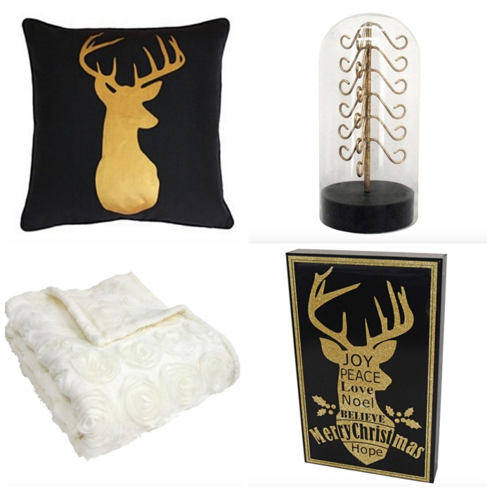 Black and Gold Reindeer