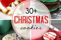 Over 30 Festive Christmas Cookies