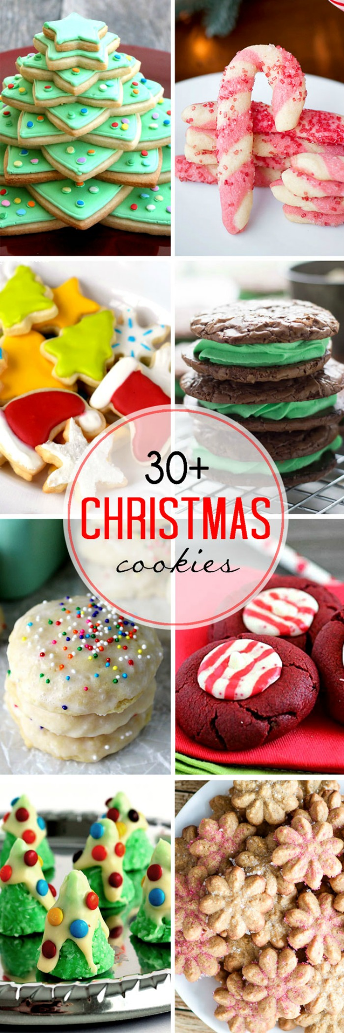 With over 30 Festive Christmas Cookies, you will find a holiday baking recipe everyone will love! | The Love Nerds