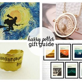 Harry Potter Gift Guide - For all you wizards and muggles, don't miss these awesome harry potter gift ideas! | The Love Nerds