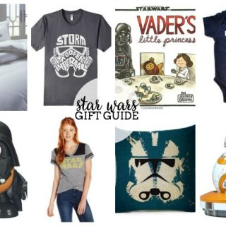 Star Wars Gift Guide for All Ages - Whether it's a baby Jedi, a Jedi cook, or even a droid fan, we have you covered with these awesome Star Wars Ideas! | The Love Nerds