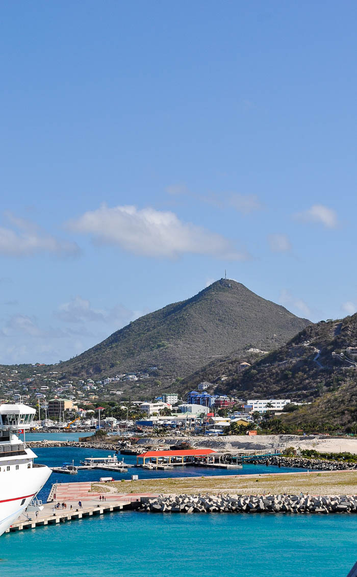 St. Maarten Cruise Port - I'm sharing tips on our Caribbean Cruise, including our stop at St. Maarten and Airport Beach! | The Love Nerds