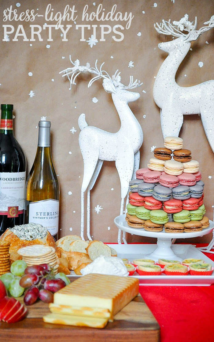 Stress-Light Holiday Party Tips - Hosting will always be a little stressful, but these tips and Sam's Club can help you can enjoy time with your guests! | The Love Nerds #ad #partylikeapro #samsclub