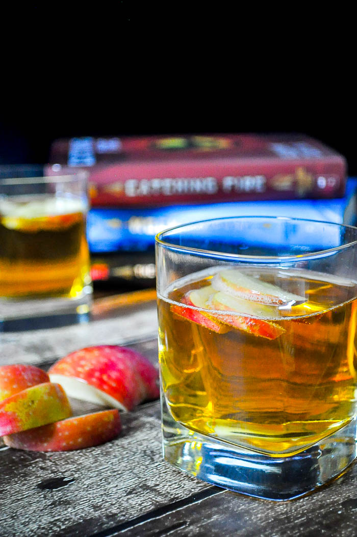 The Girl on Fireball is the perfect cocktail recipe for celebrating Katniss Everdeen! It is also the first in our new series Literary Libations! | The Love Nerds