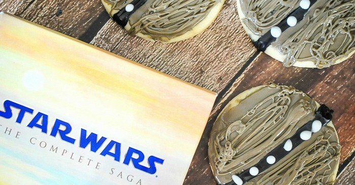 Star Wars Scruffy Looking Wookie Cookies Recipe - Celebrate the Force Awakens with these tribute Chewbacaa Cookies!   The Love Nerds