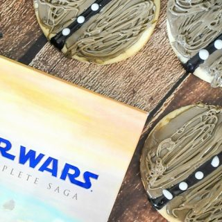 Star Wars Scruffy Looking Wookie Cookies