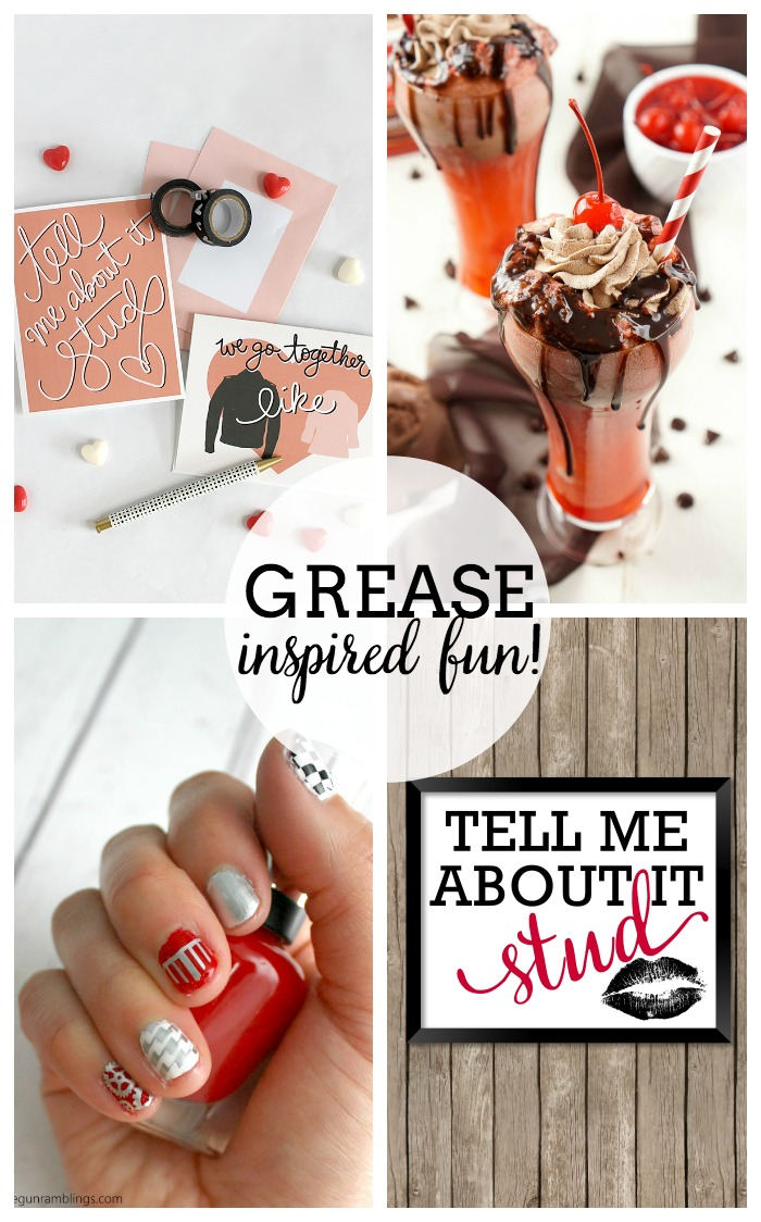 Grease Inspired Ideas - Because Grease is still the word!