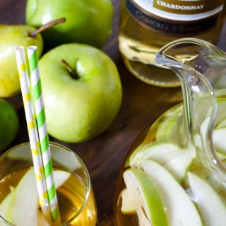 Green Apple and Pear Sangria