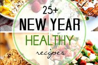 25+ Healthy Recipes for the New Year! Jump start a better diet after all the cookies and fudge over the holidays with these healthier ideas! | The Love Nerds