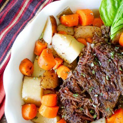 Hearty Slow Cooker Pot Roast
