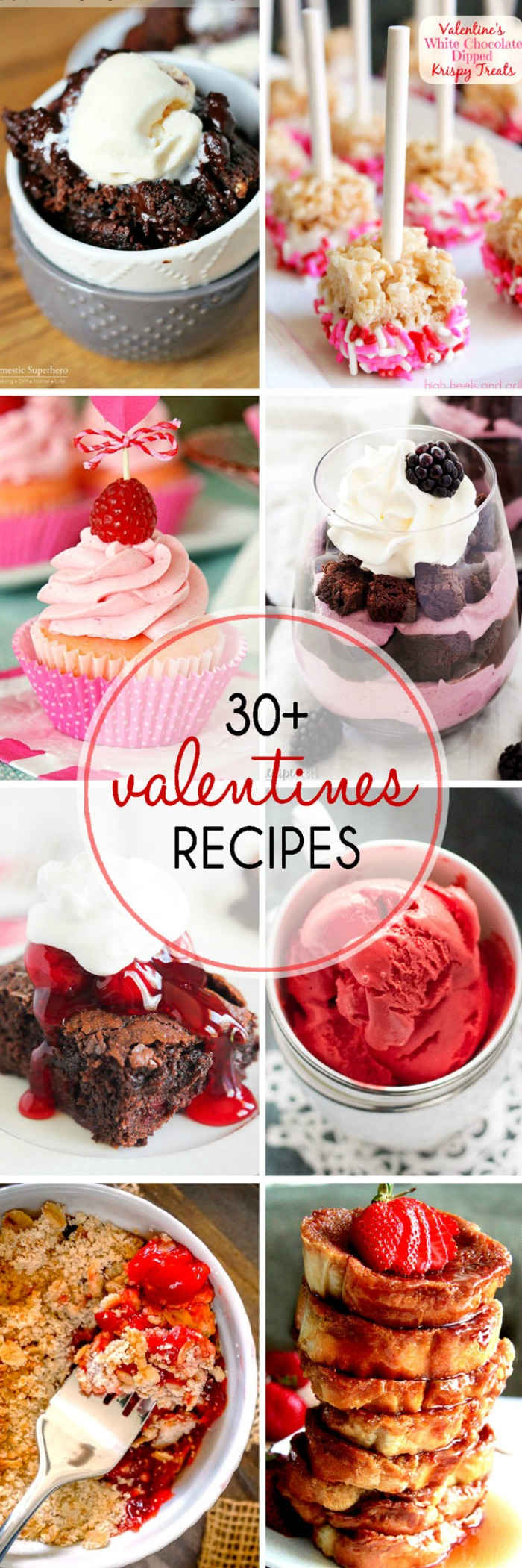 Valentine's Day Recipes everyone will love! Enjoy a nice date night for two or the whole family with these special holiday recipes! | The Love Nerds