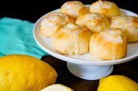 Easy Lemon Cinnamon Rolls