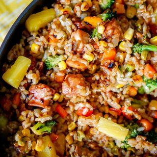 Chicken Teriyaki Fried Rice