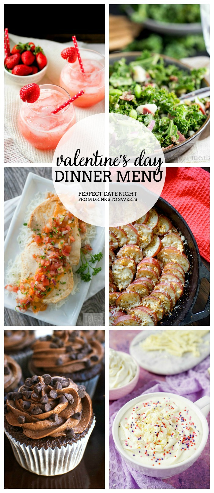 Valentine S Day Dinner Menu We Have Put Together The Perfect Date Night At Home