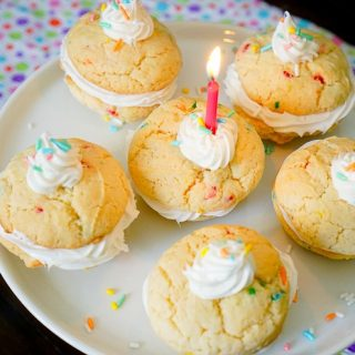 Birthday Funfetti Cookies