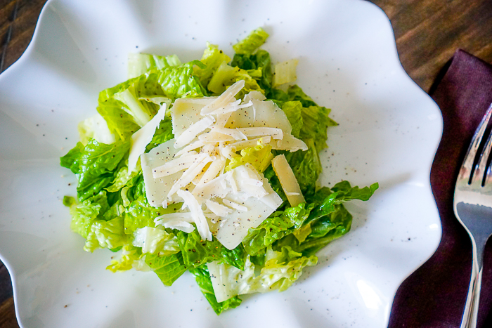 Caesar Vinaigrette Recipe - A Light and Smooth alternative on the classic salad dressing. | The Love Nerds
