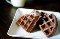 Making Memories & Delicious Devil's Food Cake Mix Waffles