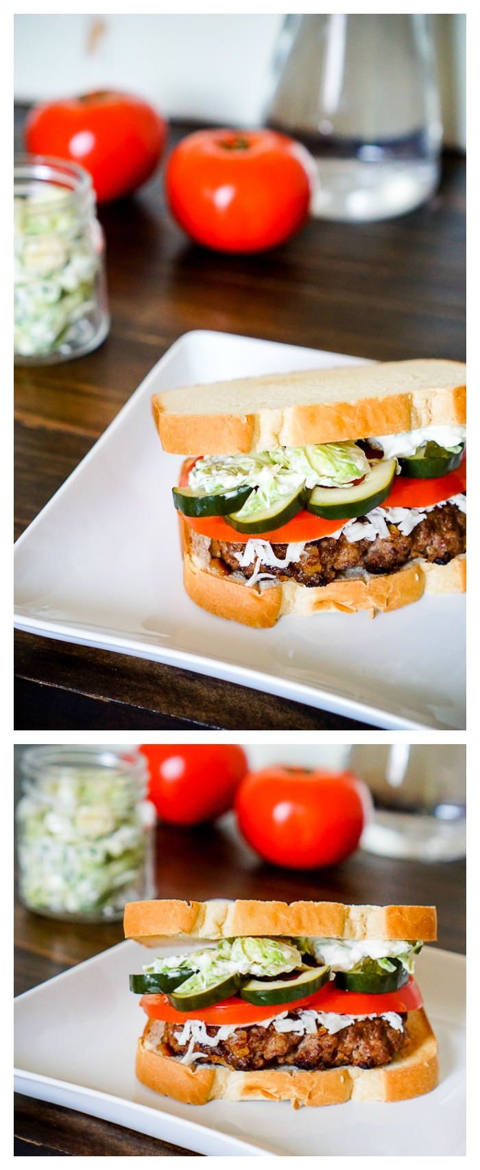 Two amazing sausage recipes - Veggie Sausage Dip and Sausage Smashed Burger Recipe! | The Love Nerds #ad #JDFAMILYTABLE