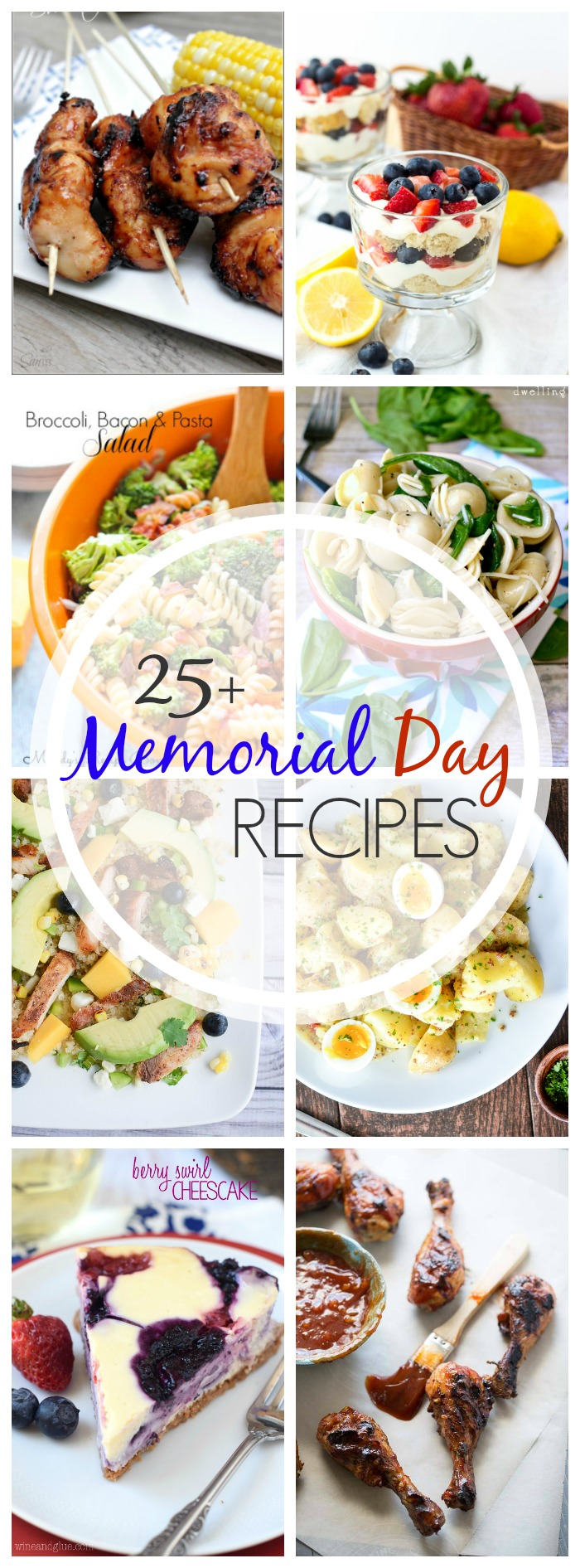 25+ Perfect Memorial Day Recipes that you'll want to make all summer long! From savory grill recipes to tasty summer desserts, we have you covered! | The Love Nerds