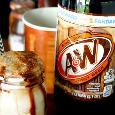 Summer Root Beer Float Bar