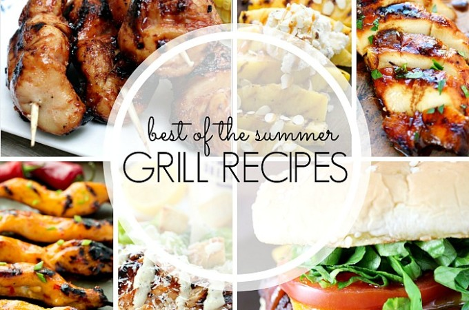 Over 20 Delicious Grill Recipes - These are the best summer recipes for you to try for dinner or for your next BBQ! | The Love Nerds