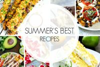 Summer Recipes You Don't Want to Miss - From grilled dinner ideas and delicious salads to lots of fruity desserts! These are must make family recipes! | The Love Nerds