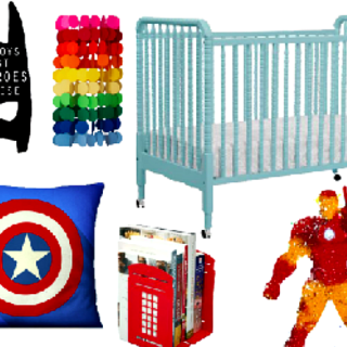 Superhero Nursery Decor FEATURE2