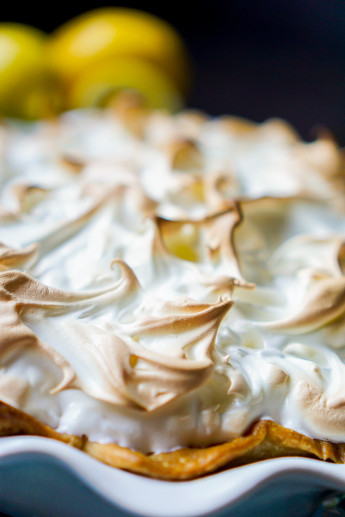 Mom's Lemon Meringue Pie - A classic family recipe that we all love and so will you! This pie recipe is the perfect holiday dessert addition!   The Love Nerds