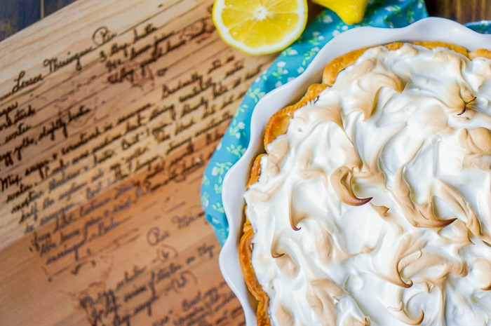Mom's Lemon Meringue Pie - A classic family recipe that we all love and so will you! This pie recipe is the perfect holiday dessert addition! | The Love Nerds