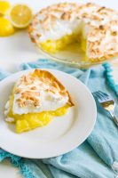 A Lemon Meringue Pies Recipe you want to make for every holiday! Homemade Lemon Filling and Whipped Meringue makes it a family favorite!