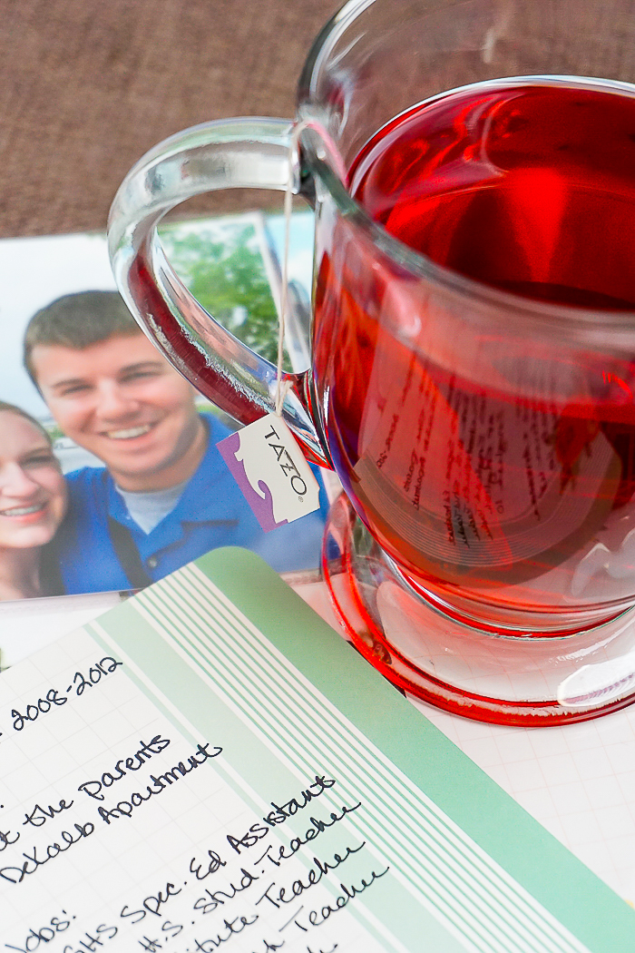 Find time to #SipJoyfully and Live Your Passions! Taking time for myself before our little one arrives & giving you a sneak peak at our Anniversary Journal! | The Love Nerds #ad