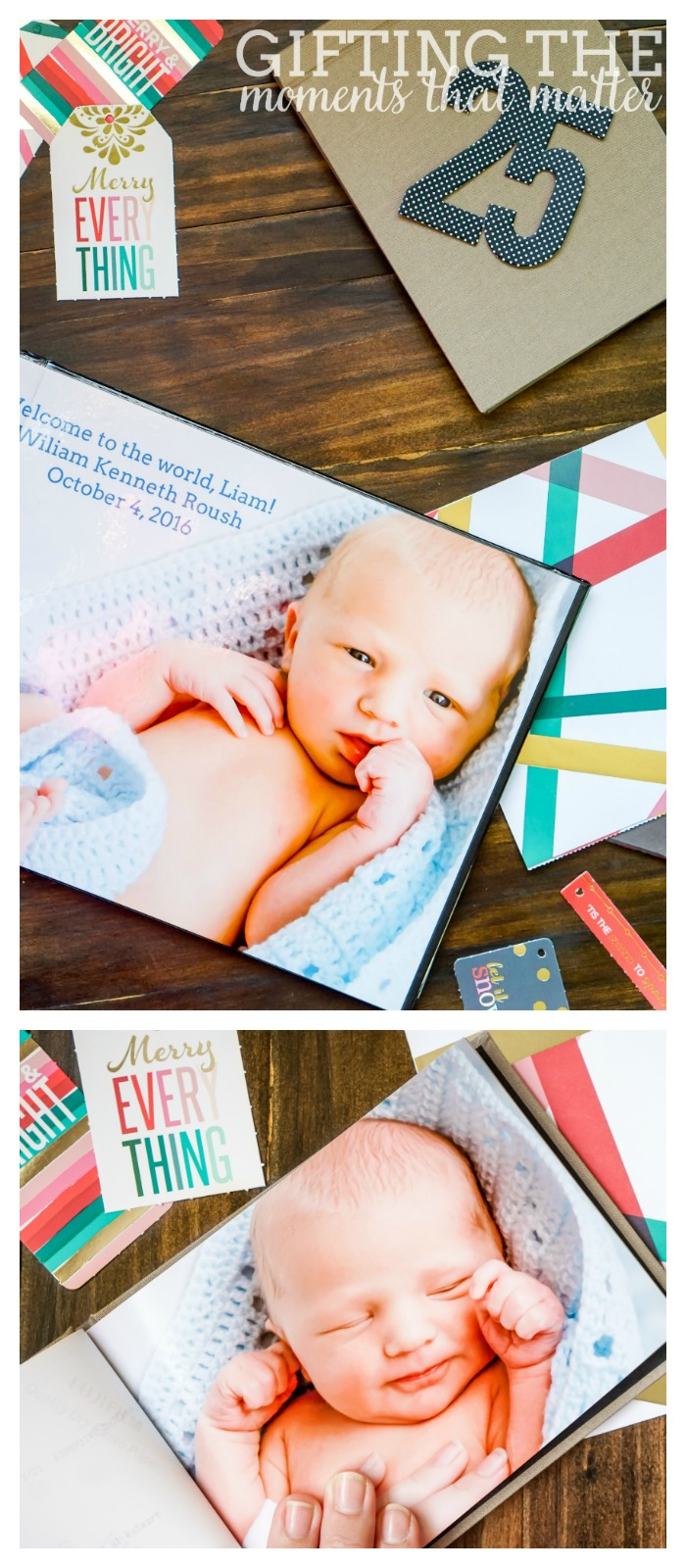 Gifting the Moments that Matter - Celebrate all the wonderful moments in our lives with these personalized photo gift ideas! | The Love Nerds AD